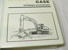 CASE 90B Series Excavators & L Series Loader Backhoe Training Manual/Schematics