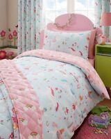 Magical Unicorns Kids Girls Bedding Duvet Cover Set Reversible Fairies Rainbows