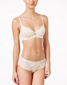 NEW Free People Daydreamer Embroidered Lace Inset Brief Undies Panties Ivory