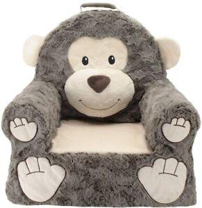 Kids Children's Plush Sofa Seat Animal Chair Soft Toddler Seat