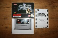 Mighty morphin power rangers: the movie super nintendo snes complete in box