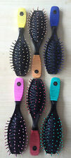 Multicoloured BAG sized Quality Paddle Hair Brush TRUSTED UK SELLER