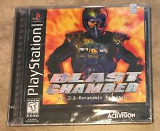 Blast Chamber 3D Rotatable Death Match NEW factory sealed Playstation 1 PS1