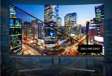 "Crossover 3260QD CURVED  32"" Gaming Monitor 2560x1440 QHD  PIP&PBP HDMI / DVI"