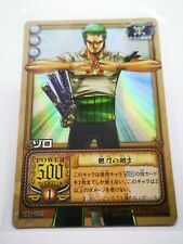 One Piece From TV animation bandai carddass carte card holo Made in Korea TD-C02