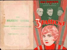 Three Passions Original Movie Herald 1928