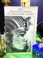 1979 Cincinnati Journal Ceremonial Magick 4 CROWLEY THELEMA OCCULT Magic Vintage