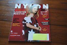 NYLON Magazine November 2014 Leighton Meester Nick Jonas Let's Get Weird America