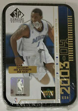 2003-04 Upper Deck SP Signature Box Factory Sealed Tracy Mcgrady Tin