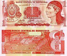 HONDURAS 1 Lempira Banknote World Paper Money UNC Currency Pick p84e Note Bill