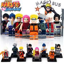 SALTO Naruto Shippuden Anime MINIFIGURES MINI Figura 8pcs Set Si Adatta LEGO