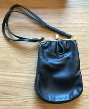 Vintage Spearo small black leather handbag in excellent condition