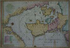Carte de la Mer de Dannemark -Dänemark, Skagerrak - Jaillot / Depot Marine 1793