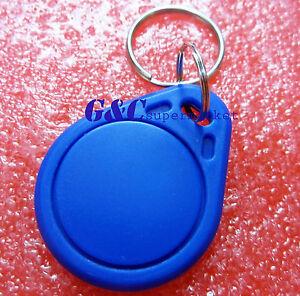 2PCS RFID IC Key Tags Keyfobs Token NFC TAG Keychain 13.56MHz Arduino NEW M93