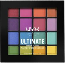 NYX Professional Makeup Ultimate Shadow Palette, Eyeshadow Palette Brights USP04