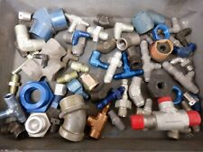 Lot #1 Mixed An Ms Fittings Military Surplus Aircraft Supply Pipes Elbow T Joint