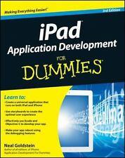 iPad Application Development For Dummies, Goldstein, Neal, Good Condition, Book