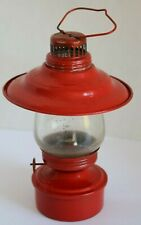 Small Vintage Red Lantern