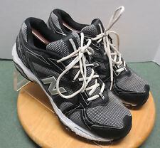 Men's sz 12 D gray/black New Balance 506 running cross training athletic shoes