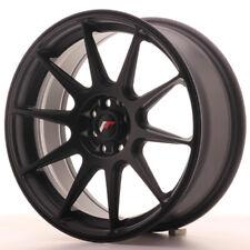 Japan Racing JR11 17x7.25 ET25 4x100 4x108 MattBlack 4 cerchi in lega 4 wheels