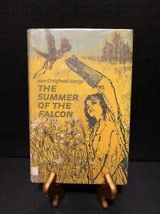 THE SUMMER OF THE FALCON by George, Jean Craighead 1962 HC/DJ Ex-Library
