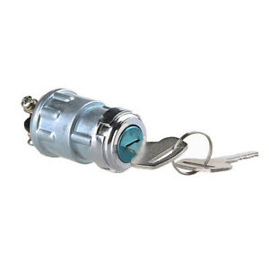 Universal Replacement Ignition Switch Lock Cylinder with 2 Keys For Auto Car PP