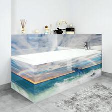Bath Panels Printed on Acrylic - Dolphin Rainbow