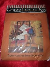 Vintage ERGEE Sontine Feinstrumpfhose Gr. 38-40 flanell Collant Tights OVP
