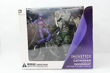 DC Injustice Catwoman vs Doomsday Battle Pack Action 2 Figure Set
