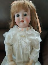 """QUEEN LOUISE DOLL BISQUE PERFECT, NO FLAWS, GOOD VALUE,  24"""" STUNNING!!"""