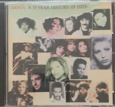 Arista ~ A 15 Year History of Hits  CD Like New
