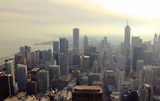 Chicago City Cityscape Skyline 8x10 High Quality Photo Picture