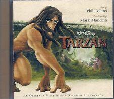 CD BOF / OST 14 TITRES--WALT DISNEY--TARZAN--MANCINA/COLLINS