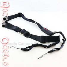 Carry Speed M-Sling Camera Neck Strap for Sony NEX A7 Olympus OM-D EOS M black