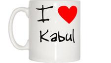 I LOVE Coeur Tasse de Kaboul