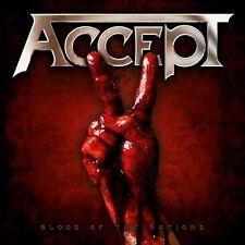ACCEPT - Blood of the Nations - Aufkleber Sticker - Neu
