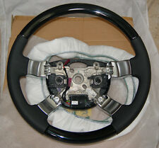 Range Rover FEO L322 2003-12 Piano Black Lacquer Wood Heated Steering Wheel New