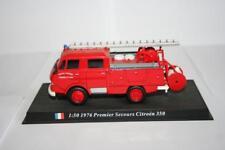 Del Prado Feuerwehr: 1:50 1976 Premier Secours Citroen 350, ohne OVP, Box1