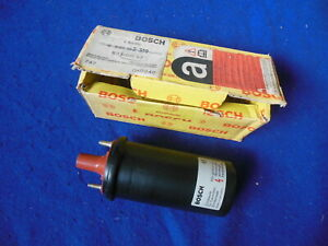NOS Bosch Coil 00057  0221122319 1984-1985 BMW 318i Made in Germany