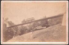 Suisse. Chemin de fer de Rigi. Photographe Adolphe Braun vers 1875