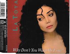 LA TOYA JACKSON - Why don't you want my love CDM 4TR 'Germany 1991 RARE!!