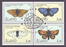 Butterflies Alandic Stamps