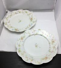 Vintage Haviland Limoges Yellow Rose Plate set of 5