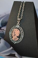LOLITA ANTIQUE STYLE CAMEO NECKLACE  [13/1/32]