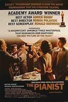 Die Pianist (Zweiseitig Academy Auszeichnungen) Original Filmposter