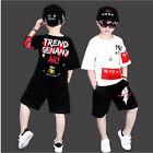 Cool Dancewear Dance Costume Boys New Jazzy Dance Children 110-160cm