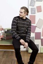 Lang Yarns Yak Tweed Knitting Pattern Pullover As Download Fam 245