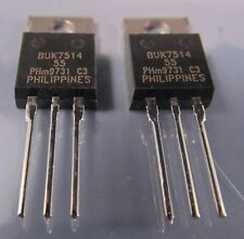 10er SET N-MOSFET-je2x: BUK455-200A,BUK438-800B,BUK7514-55,BUK457-500B,BUK443-50