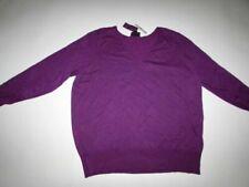 Maglione da donna viola in lana