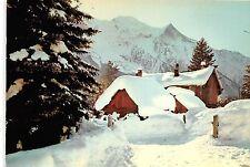 BR29433 Chamonix Mont blanc chalets sous le neige france